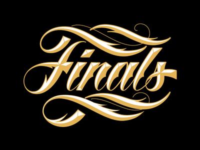 Nike – Unused Concepts nike sports basketball league finals lettering aggressive script design inspiration