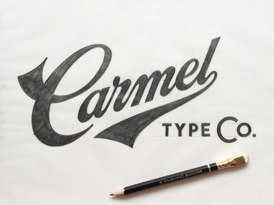 Carmel Type Co. Sketch