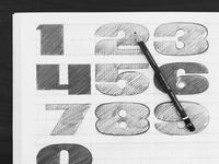 Numerals sketch