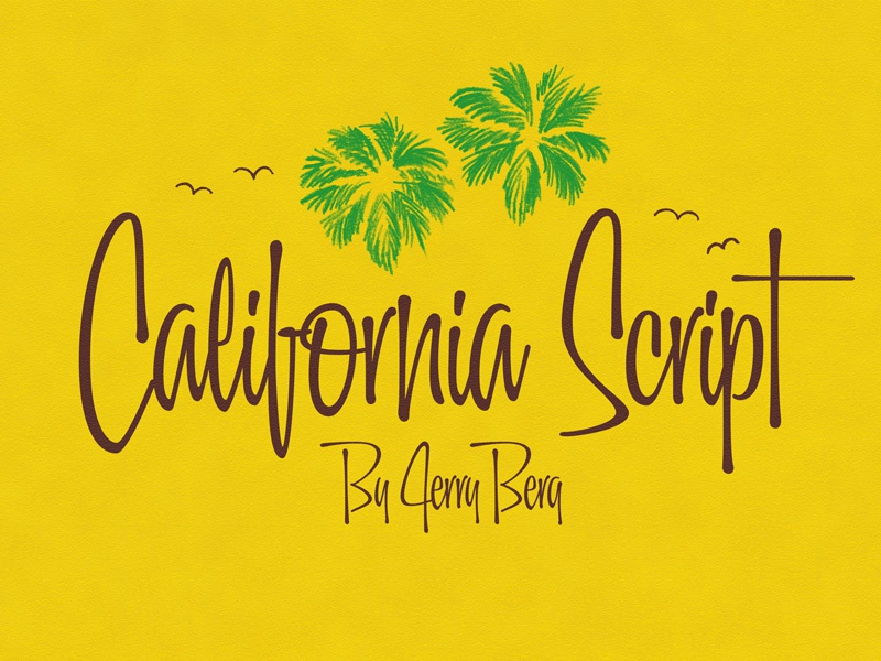 California script palms 1
