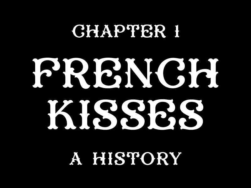 French tourist french kisses dribbble