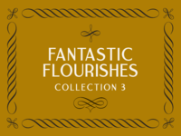 The Third Fantastic Flourishes Collection corners borders swashes swirls filigree ornament decoration flourishes
