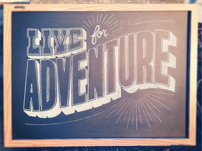 Live For Adventure Alternative