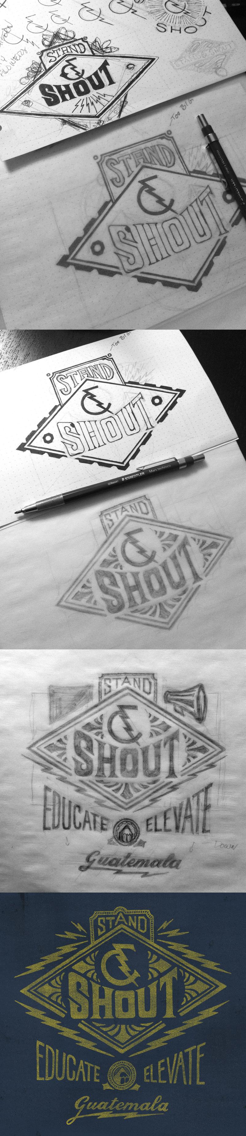 Stand shout process