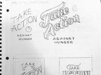Take action large