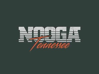 Nooga Tennessee nativemade tshirt design retro vhs vintage chattanooga nooga tennessee