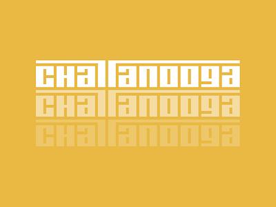 Chattanooga Type retro branding custom type tn nooga chattanooga tennessee