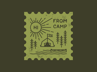 Hi From Camp Stamp