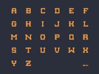 Modular Typeface
