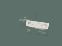 Om Grown Business Cards