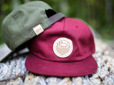 NativeMade Tennessee Leather Patch Hats