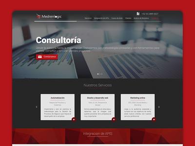 Medrenlogic Landing Page