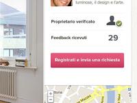 UI for real estate startup