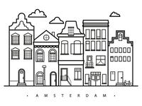 The beautiful city of Amsterdam