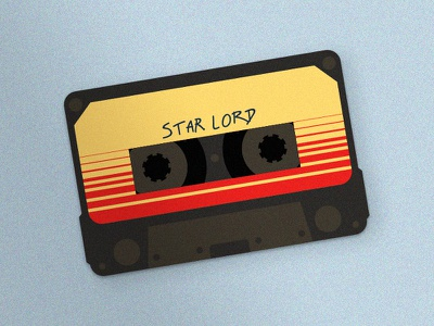 Week 02: Star Lord star lord guardians of the galaxy animation animal flat icon illustration