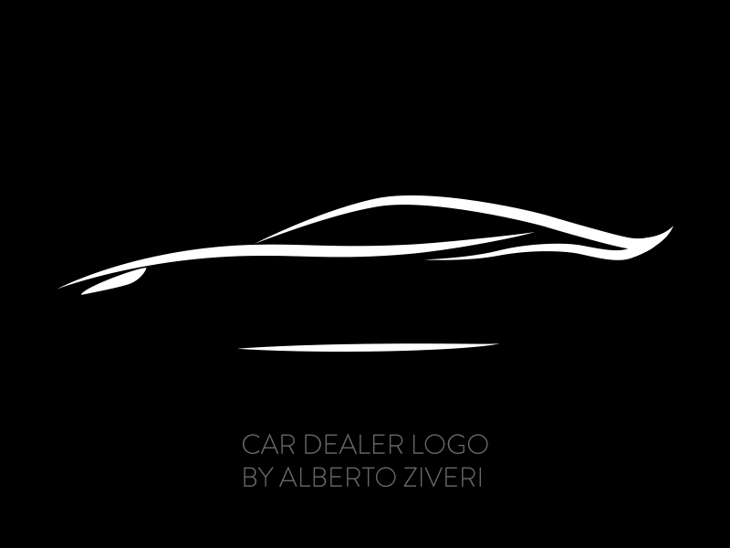 Car Dealer Logo for a parent by Alberto Ziveri - Dribbble