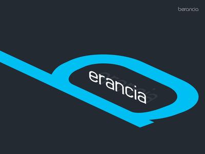 NEW Berancia Typeface Perspective