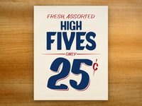 High Fives update