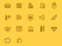 Iconset for Door Store