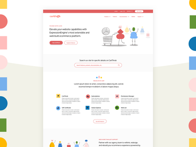 CartThrob Visual Concept illustration process brand experience ui design foster made
