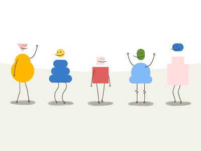 Tech You Want to Hug design process brand experience illustration foster made