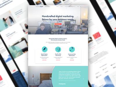 Site Redesign for Workshop Digital digital marketing website design algolia ux design ui design foster made