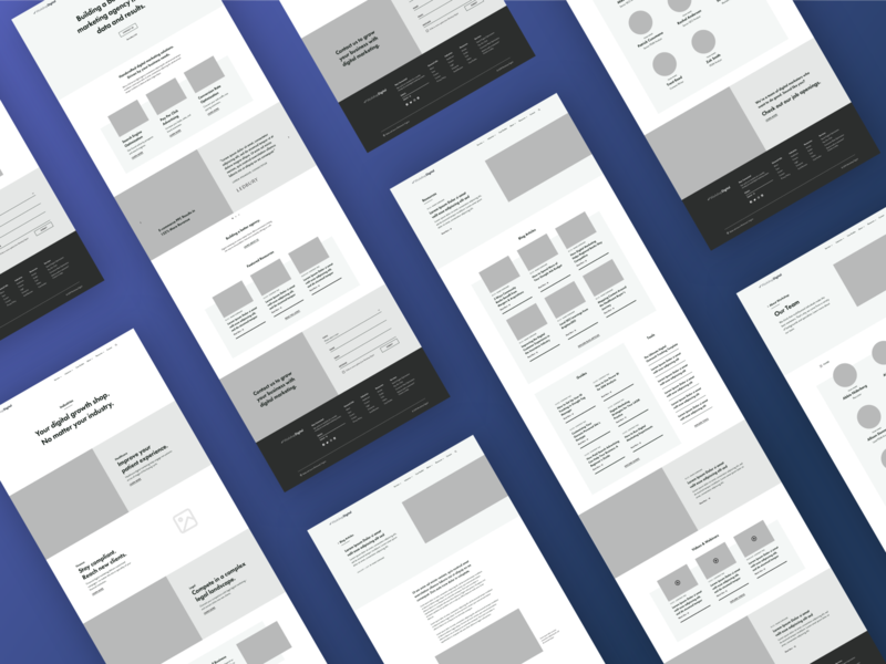 Wireframe Design strategy ui design content strategy process wireframe ux design foster made