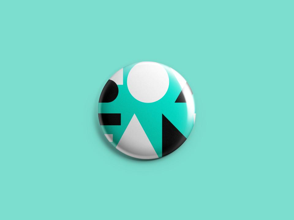 SOY FAN, Ofunam. Brand Identity pin vector design logotipe branding