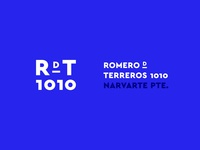 RDT 1010 Brand Identity