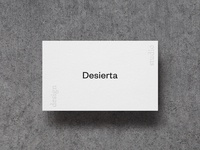 Desierta | b. cards