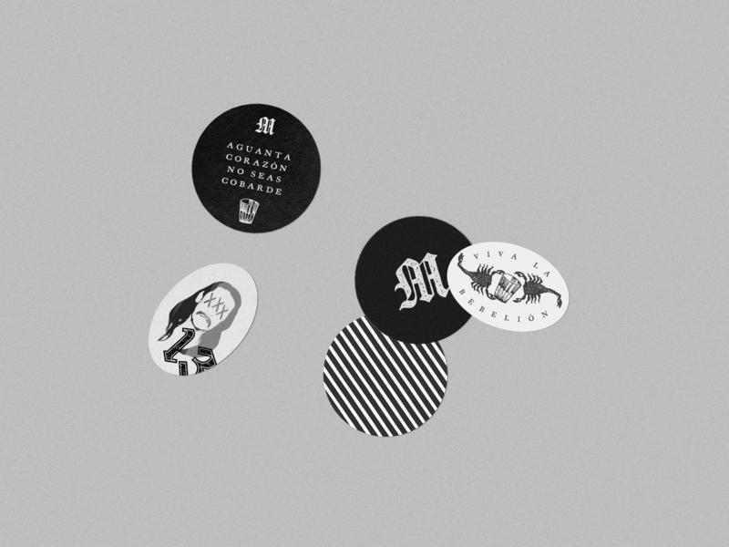 Malo Burgers stamp illustration grunge texture design burgers graphic design branding