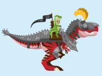 Dino Knight T-Rex