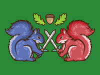 Squirrels Of The Sword