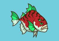 Red Fish Dangerous Fish