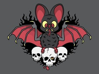 Devilish Little Bat