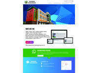 Example Web Design for University