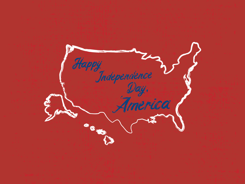 Happy Independence Day, America independence day 4th of july holidays tshirt design typography vector illustrator