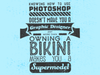 Supermodels & Photoshop