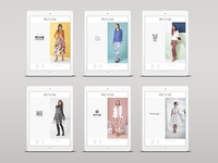 Riva Fashion - Website re-design - UI-UX