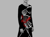 Fashion Illustration applied to Apparel design
