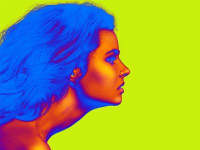 Dribbble Carmengrisolia Fashion Illustration 6 photography fashion color neon
