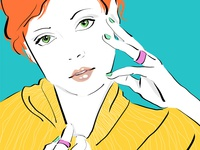 Dribbble Carmengrisolia Fashion Illustration 8