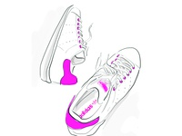 Stan Smith in Pink