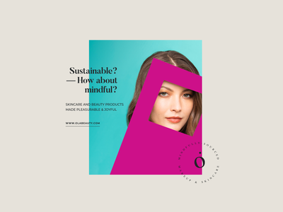 Ola Beauty Branding - Product Card Layout web typography branding logo ux ui photoshop design beauty pink photography color fashion