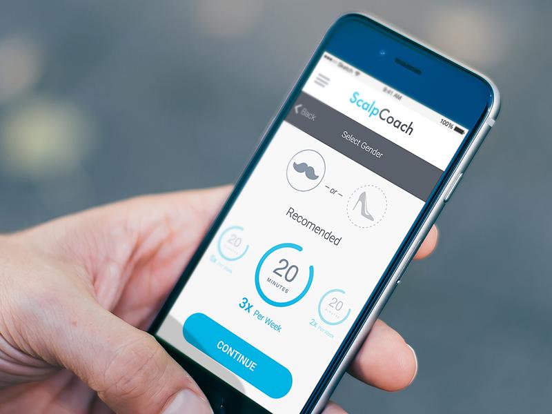 App design for medical devices interface medicine ios ux ui design app