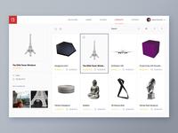 3D printing service Web app