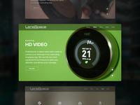 Lensspace site design
