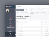 RentalsForce Dashboard for landlords