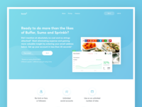 WIP of Marketing Automation Landing Page