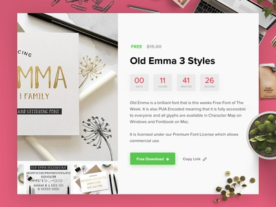 Font-Bundles Marketplace UX/UI Design
